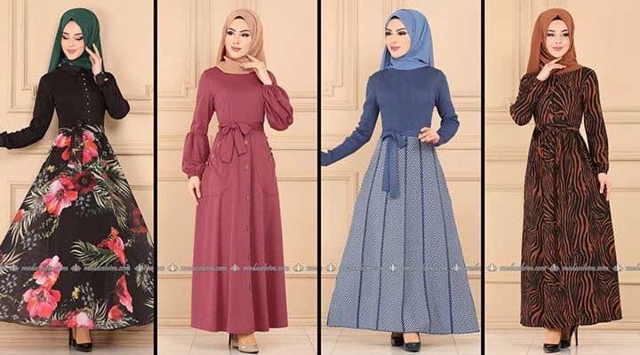 Modaselvim Büyük Beden Elbise Modelleri 6 [ 2020 Yaz ] | Tesettür Elbise - Plus Size Dresses