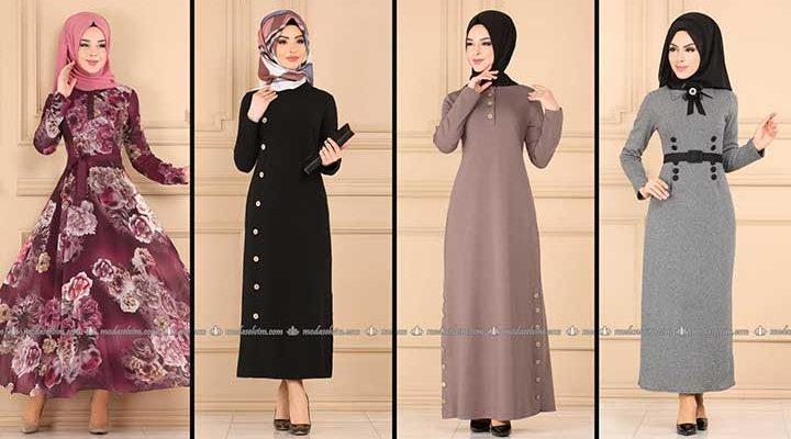 Modaselvim Büyük Beden Elbise Modelleri 7 [ 2020 Yaz ] | Tesettür Elbise - Plus Size Dresses