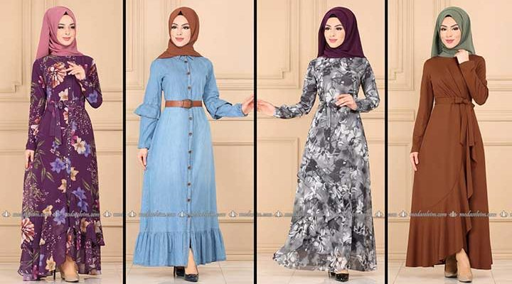 Modaselvim Büyük Beden Elbise Modelleri 9 [ 2020 Yaz ] | Tesettür Elbise - Plus Size Dresses