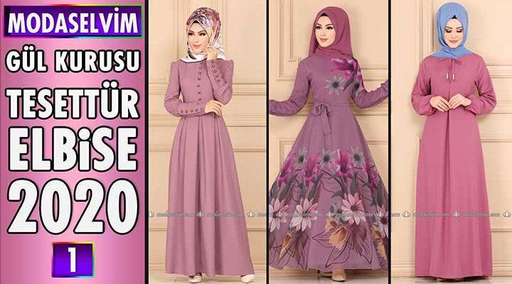 Modaselvim Gül Kurusu Elbise Modelleri 2020 [ 1 ] | Moda Selvim Elbise Modelleri