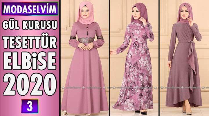 Modaselvim Gül Kurusu Elbise Modelleri 2020 [ 3 ] | Moda Selvim Elbise Modelleri