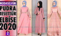 Modaselvim Pudra Elbise Modelleri 2020 [ 2 ] | Powder Color Dress