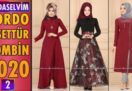 Bordo Modaselvim Tesettür Kombinleri 2020 [ 2 ] | Hijab Fashion Combinations