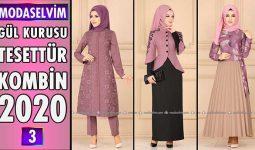 Gül Kurusu Modaselvim Tesettür Kombinleri 2020 [ 3 ] | Hijab Fashion Combinations