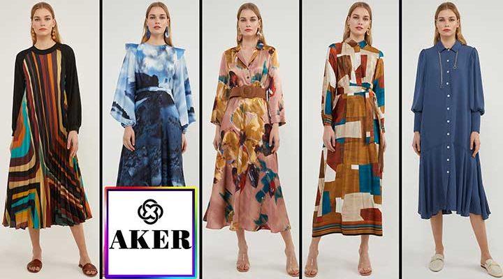 Aker 'in Şık ve Kaliteli Sonbahar Elbise Modelleri ve Fiyatları | 2021 Aker Elbise Modelleri
