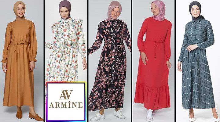 En Popüler Armine Sonbahar Elbise Modelleri ve Fiyatları | 2021 Armine Elbise Modelleri