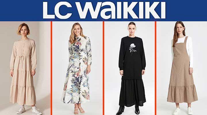 LC Waikiki 2020 Sonbahar Elbise Modelleri ve FİYATLARI [ 3 ] | Lc Waikiki Yeni Sezon - Sonbahar Kış