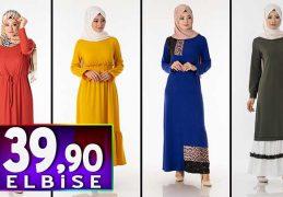 Tesettür Pazarı 39,90 TL Elbise Modelleri 3 | Kampanya İndirim Tesettür Elbise Modelleri