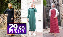 Tofisa 29,90 TL Elbise Modelleri 2 | Kampanya İndirim Ucuz Tesettür Elbise Modelleri