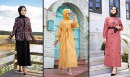 Tofisa Trend Günlük Tesettür Elbise Modelleri ve Fiyatları | En Şık Günlük Elbise Modelleri