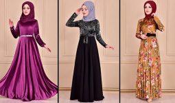 Modamerve 2021 Kadife Tesettür Elbise Modelleri 1 | 2021 Trend Tesettür Elbise Modelleri
