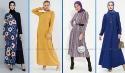 2021 Günlük Tesettür Elbise Modelleri 1 ( Modanisa Günlük Elbise Modelleri 2021)