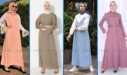 2021 Günlük Tesettür Elbise Modelleri 5 ( Modanisa Günlük Elbise Modelleri 2021)
