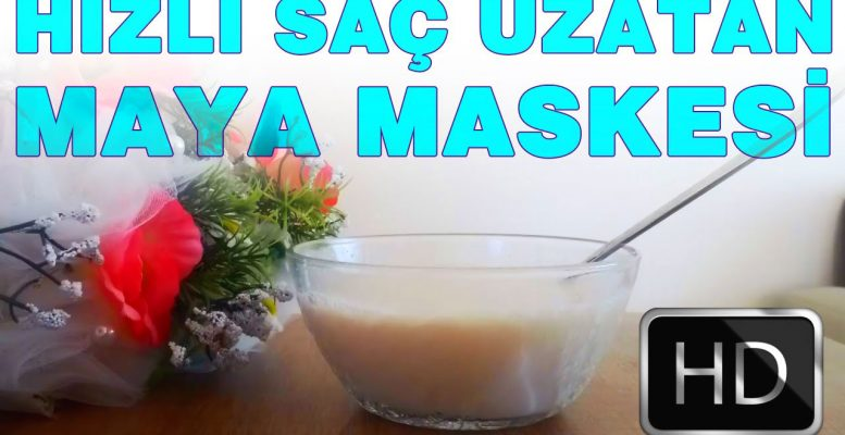 Hızlı Saç Uzatmak İçin Maya Maskesi Tarifi | Saç Uzatma Maskeleri