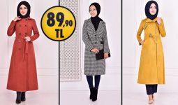 ModaMerve 89,90 TL İndirimli Tesettür Kaban Modelleri 1 [ 2021 Kış Sezonu ] | Most Fashionable Coats