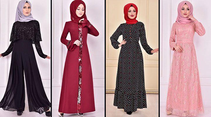 2021 Günlük Tesettür Elbise Modelleri 13( Moda Merve Günlük Elbise Modelleri 2021)
