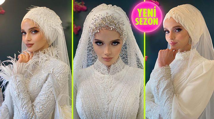 2021 Aysira Tesettür Gelinlik Modelleri   The Most Fashionable Wedding Dress of 2021