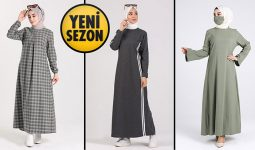 Sefamerve 39,90 TL Günlük Tesettür Elbise Modelleri 1 [2021 OCAK] | Sefamerve Elbise Modelleri 2021