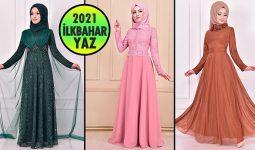 2021 İlkbahar ModaMerve Tesettür Abiye Elbise Modelleri 4   Abendkleid - Evening Dress