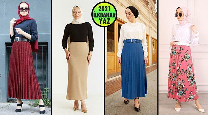 ModaSena Etek Modelleri 2021 (İlkbahar Yaz) 1/3   Skirts - Rock - Jupe - تنورة