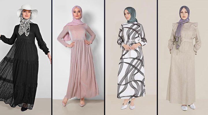Alvina Tesettür Elbise Modelleri 2021 İlkbahar & Yaz [1]