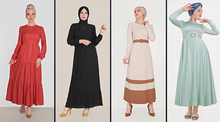 Alvina Tesettür Elbise Modelleri 2021 İlkbahar & Yaz [2]