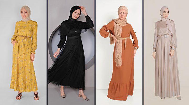 Alvina Tesettür Elbise Modelleri 2021 İlkbahar & Yaz [4]
