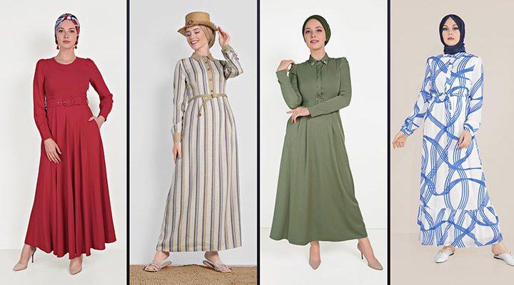 Alvina Tesettür Elbise Modelleri 2021 İlkbahar & Yaz [5]