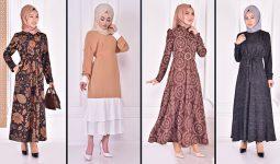 Yazlık Günlük Tesettür Elbise Modelleri 4 ( Moda Merve Tesettür Elbise Modelleri 2021)