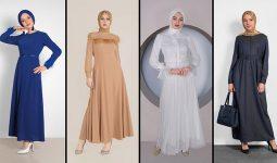 Alvina Günlük Tesettür Elbise Modelleri 6 (2021 İlkbahar & Yaz) | Trend Tesettür Elbise Modelleri