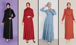 Alvina Günlük Tesettür Elbise Modelleri 7 (2021 İlkbahar & Yaz) | Trend Tesettür Elbise Modelleri