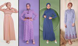 Alvina Günlük Tesettür Elbise Modelleri 8 (2021 İlkbahar & Yaz) | Trend Tesettür Elbise Modelleri