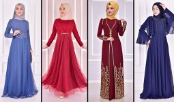 2021 ModaMerve Tesettür Abiye Modelleri 12 | Hijab Abendkleid - Evening Dress of 2021 Summer