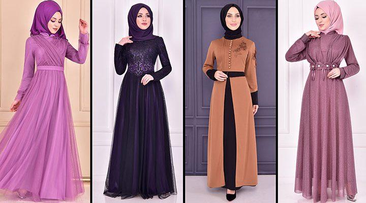 2021 ModaMerve Tesettür Abiye Modelleri 13 | Hijab Abendkleid - Evening Dress of 2021 Summer