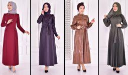 Yazlık Günlük Tesettür Elbise Modelleri 6 ( Moda Merve Tesettür Elbise Modelleri 2021)