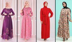 2021 Şifon Tesettür Elbise Modelleri 3 | The Most Fashionable Chiffon Dresses of 2021