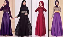 2021 ModaMerve Tesettür Abiye Modelleri 18 | Düğüne Giyecek Tesettür Elbiseler 2021