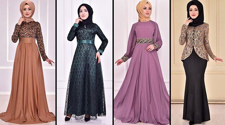 2021 ModaMerve Tesettür Abiye Modelleri 19 | Düğüne Giyecek Tesettür Elbiseler 2021