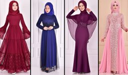2021 ModaMerve Tesettür Abiye Modelleri 17 | Düğüne Giyecek Tesettür Elbiseler 2021