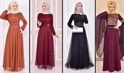 2021 ModaMerve Tesettür Abiye Modelleri 20 | Düğüne Giyecek Tesettür Elbiseler 2021