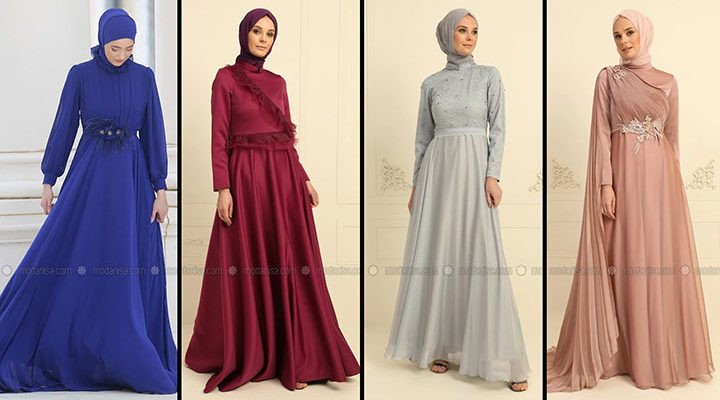 Modanisa Nurbanu Kural Tesettür Abiye Elbise Modelleri | Wedding Guest Dresses of 2021