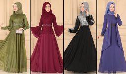 ModaSelvim Büyük Beden Tesettür Abiye Elbise Modelleri 2 (2021) | Evening Dress - Abendkleid