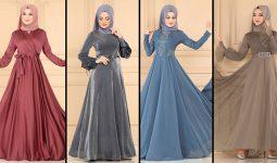 ModaSelvim Büyük Beden Tesettür Abiye Elbise Modelleri 3 (2021) | Evening Dress - Abendkleid