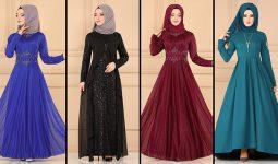 ModaSelvim Büyük Beden Tesettür Abiye Elbise Modelleri 4 (2021) | Evening Dress - Abendkleid