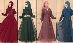 ModaSelvim Büyük Beden Tesettür Abiye Elbise Modelleri 5 (2021) | Evening Dress - Abendkleid