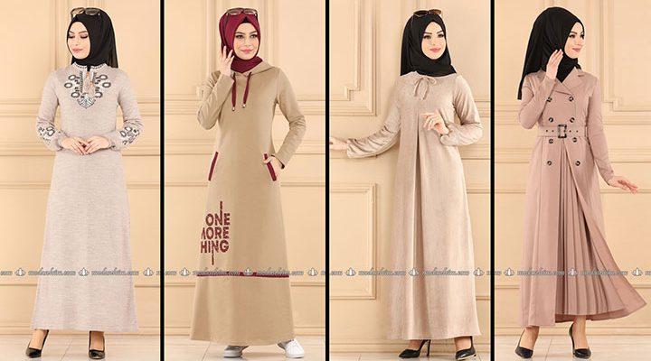 ModaSelvim Vizon Tesettür Elbiseler 2 (2021 Sonbahar) | Fall Outfits - Wedding Dresses - Plus Size