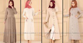 ModaSelvim Vizon Tesettür Elbiseler 2 (2021 Sonbahar)   Fall Outfits - Wedding Dresses - Plus Size