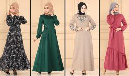 2021 Sonbahar ModaSelvim Günlük Tesettür Elbise Modelleri 1 | Fall Outfits
