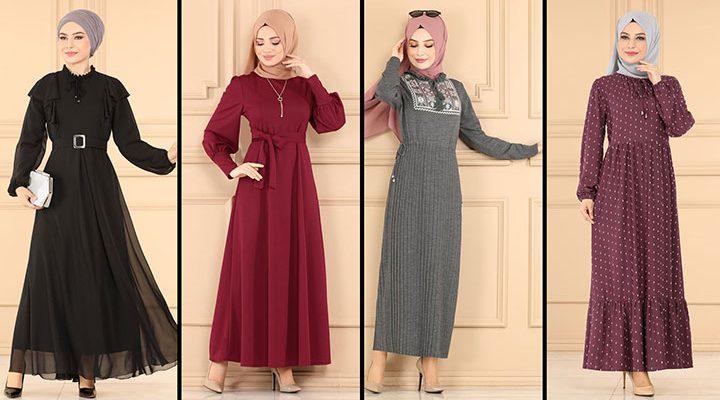 2021 Sonbahar ModaSelvim Günlük Tesettür Elbise Modelleri 2 | Fall Outfits